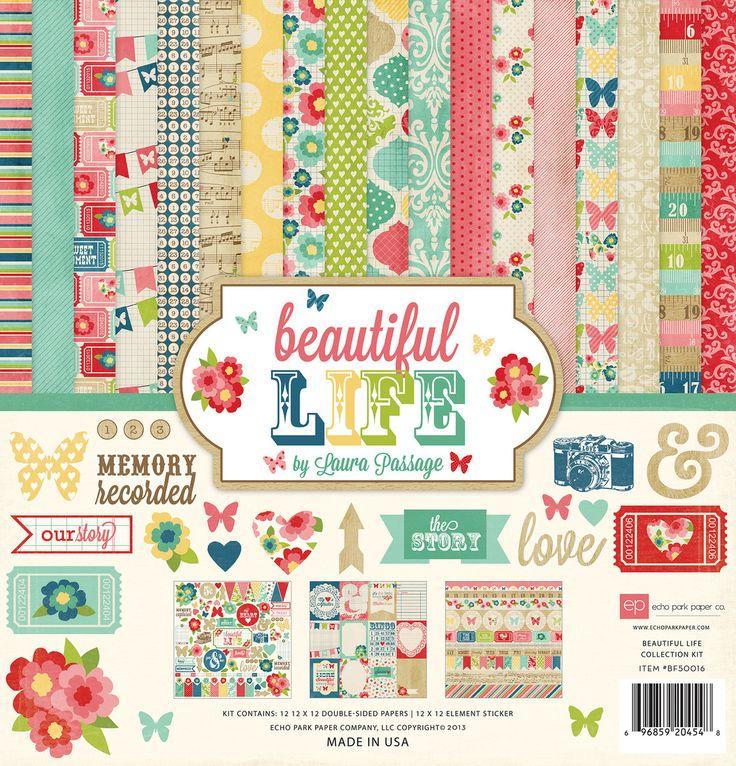 COLLECTION KIT- Beautiful Life - Ninabrook Paper Crafting