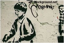 Blek Le Rat - трафаретное граффити. Галерея фото.