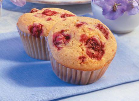 Muffins aux canneberges et à l'orange