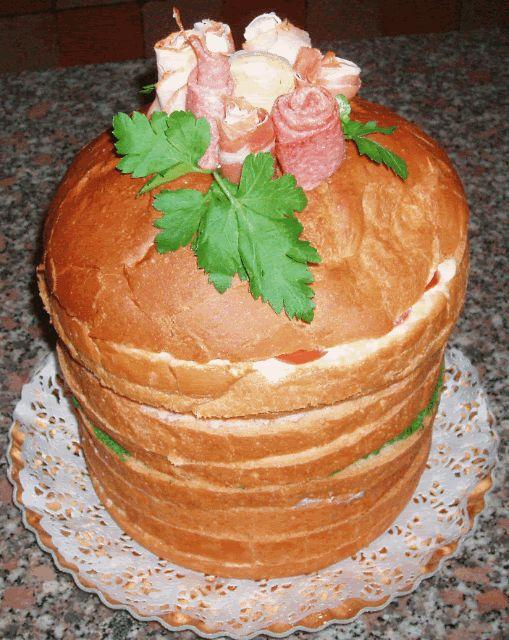 Panettone gastronomico | Miriam's cookies and cakes...e non solo