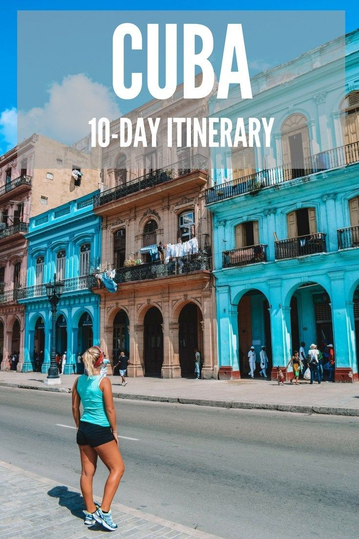 Planning a 10-day trip to Cuba? Find out all the best things to do, places to see and how to spend 10 days in Cuba with this ultimate Cuba itinerary and travel guide!