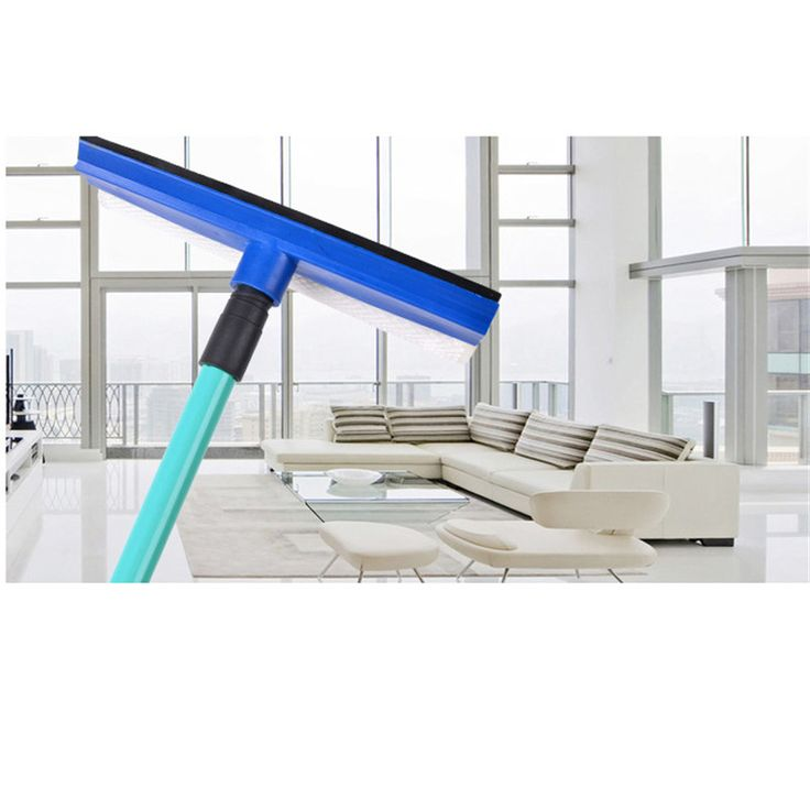 New Lengthened Window Squeegee Cleaner Brush Shower Car Wiper Sponge IA306 P0.05