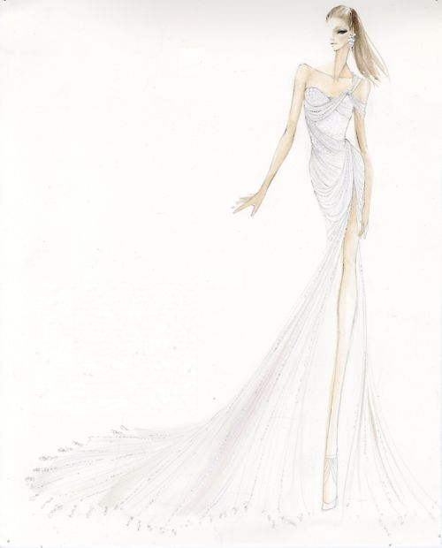 Donnakaranatelier gown worn by ashley greene at metgala for Donna karan wedding dresses