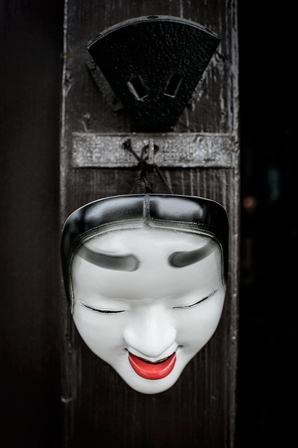 Japanese Mask by @Mahalarp Teeradechyothin Teeradechyothin Teeradechyothin Teeradechyothin, via Flickr