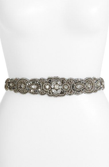 Free shipping and returns on Glint 'Arabesque' Beaded Stretch Belt at Nordstrom.com. Intricate beading adds sophisticated style to a figure-flattering stretch belt.