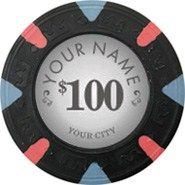 At Apache Poker Chips, you can customize your poker chips with your name and city. Just  choose our existing designs to get fast results. Visit our online web now and explore more custom poker chips.