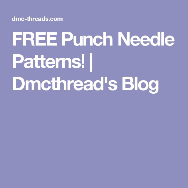 1243 Best Needle Punch Embroidery Images On Pinterest