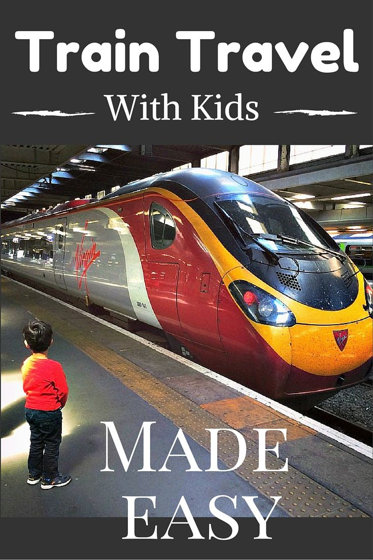 Train Travel With Kids Made Easy: Hacks to make train travel with children a doddle.