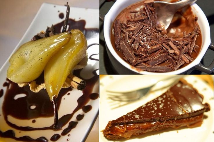 A plat unique, dessert magique! 4 idées très choco pour finir la soirée en beauté.. http://bit.ly/2bB6BzT