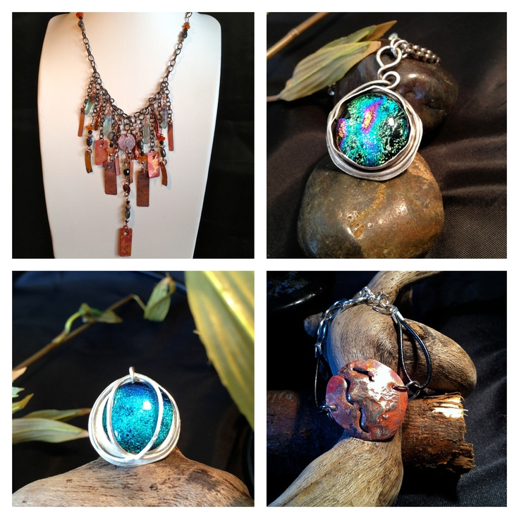 A collage of some of my deliciously different jewellery recipes - enjoy :-)
