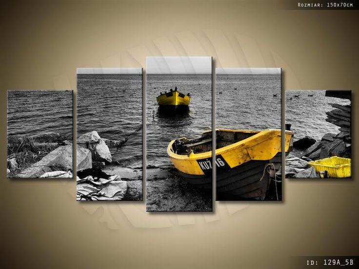 ArtGaleria Obraz drukowany 150x70cm Widoki morskie