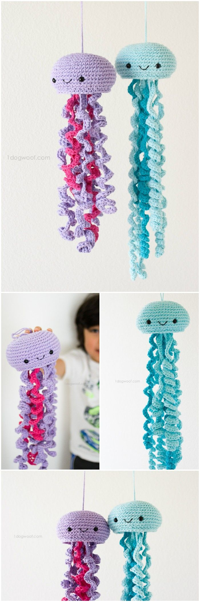 Best 25 crocheted jellyfish ideas on pinterest octopus crochet here we have shared a grand list of free crochet amigurumi patterns that all makes perfect bankloansurffo Images