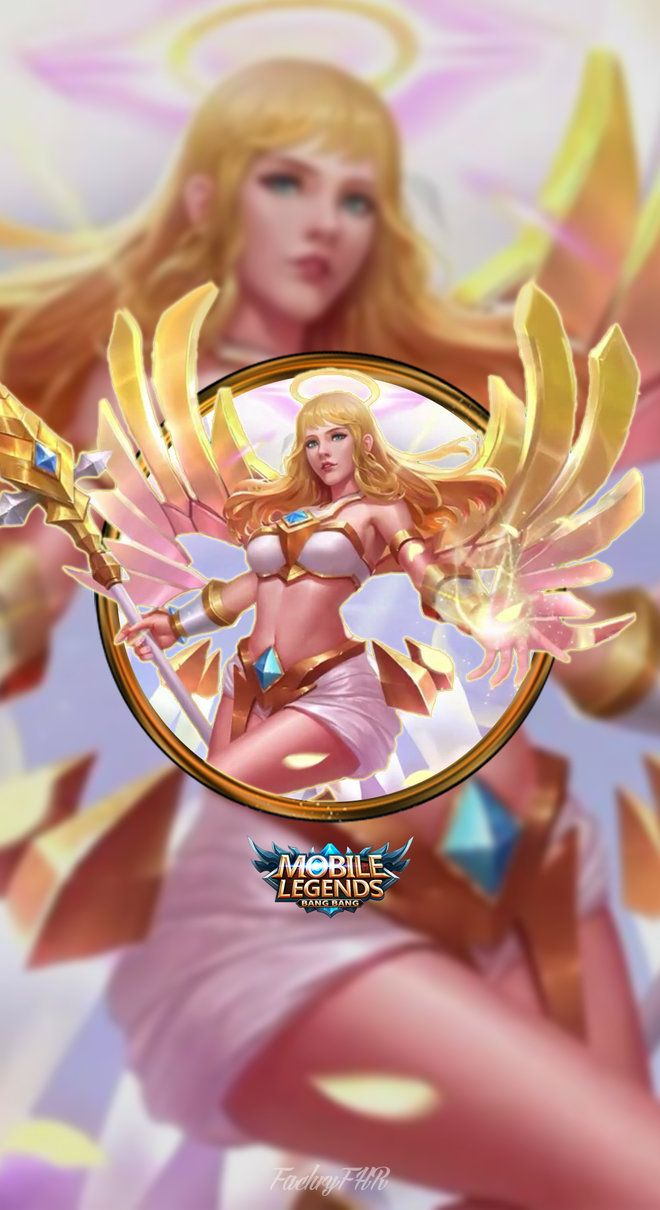 Wallpaper Phone Rafaela Wings Of Holiness By FachriFHR With