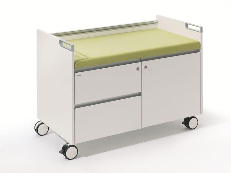 Cassettiera ufficio modulare con ruote T-Caddy - BENE