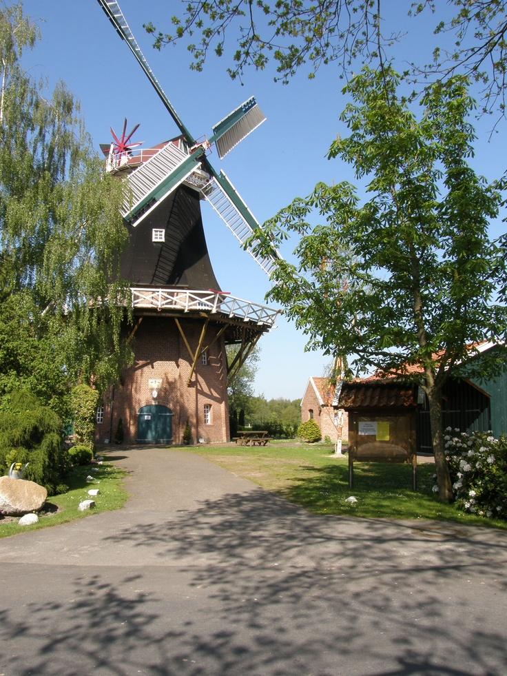 Ostfriesland: Rhauderfehn, Mühle in Rhaude
