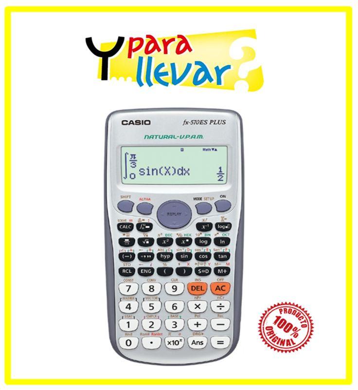 Calculadora CASIO Cientifica FX570 ESPLUS SR #YParaLlevar $39.900