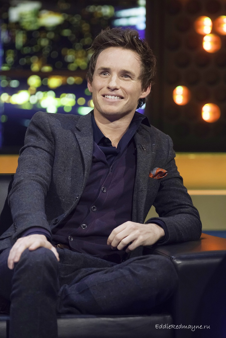 Eddie on the Jonathan Ross show in the UK - I love HD photos!