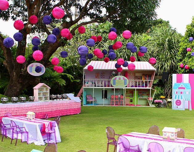 Doll House PartyWhen Tati Turned 6 Her Doting Parents And Grandparents Made Girl ThemesParty GardenHouse