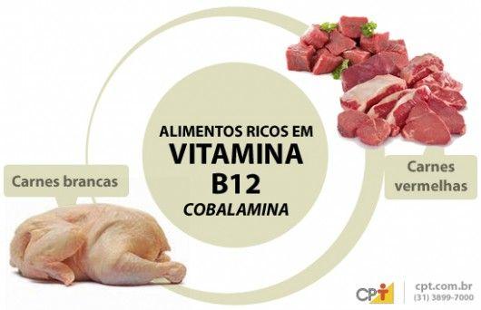 Vitamina B12: importância, fontes de alimentos, valores nutricionais, carência e excesso