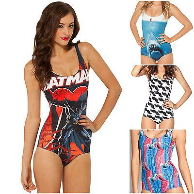 Ladies swimming costume swimsuit #swimwear #comic #cartoon womenns size 8 & 10,  View more on the LINK: http://www.zeppy.io/product/gb/2/231260694886/