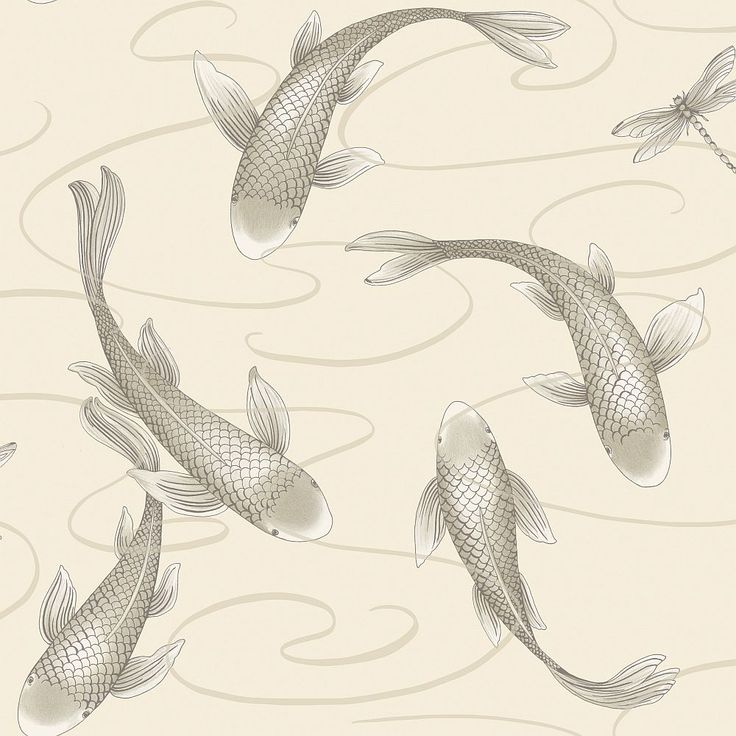 Koromo Oyster Pearl wallpaper by A Shade Wilder