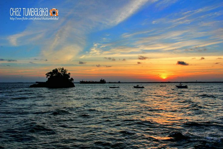 Sunset in Balikpapan