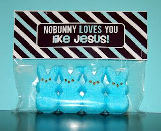 No bunny cute! Gonna make these for the church kids