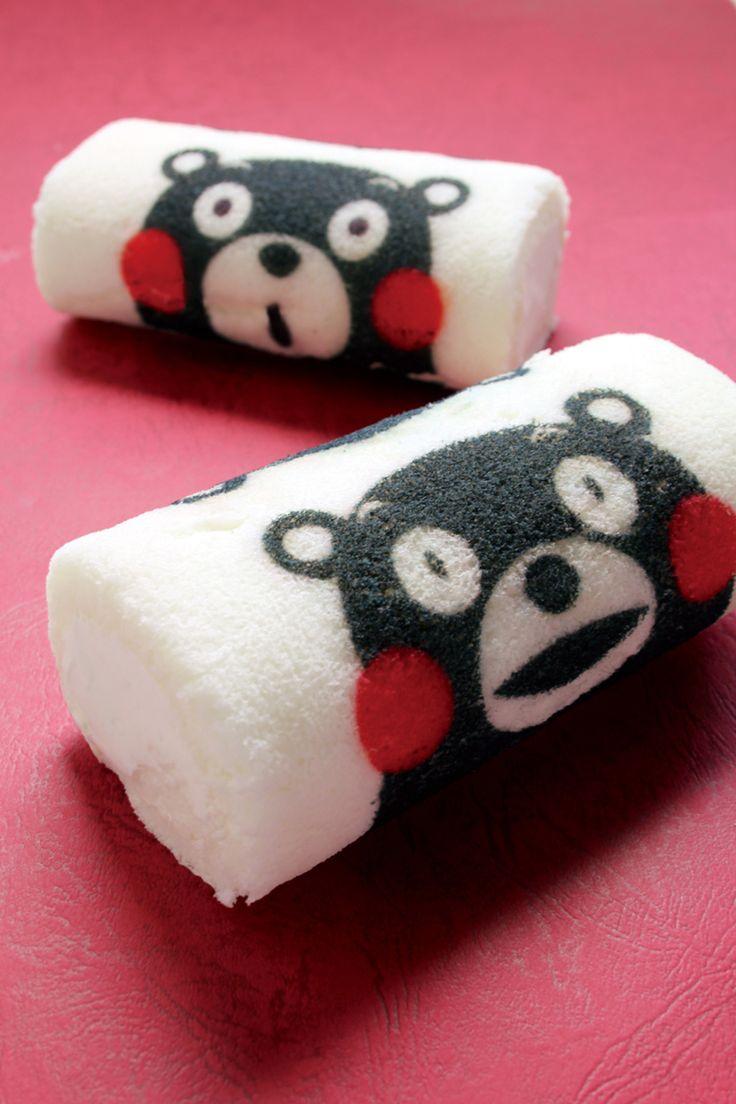 kumamon roll cake