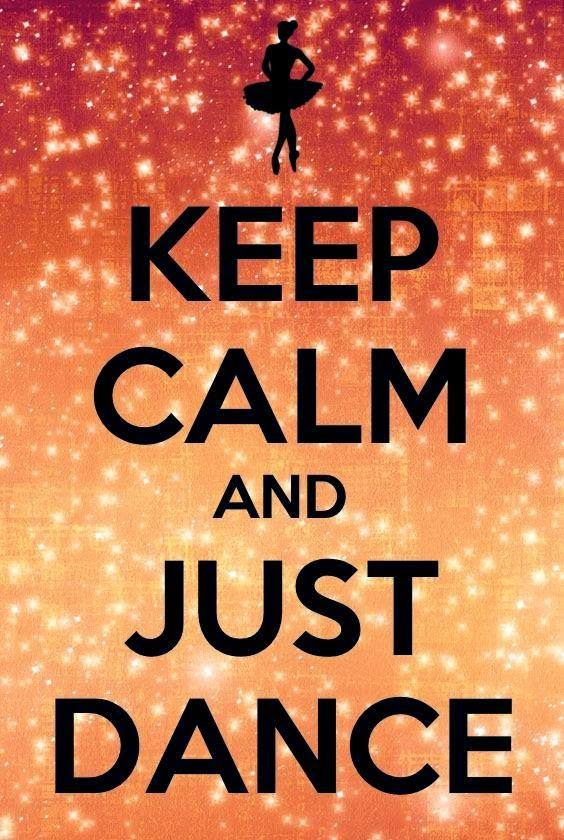 Keep Calm and Just Dance your Assss Off... You Can Free Style or you Can Hustle or You Ballroom it up   Gerard the Gman from NJ...