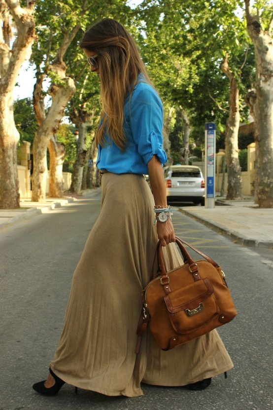 : Fashion, Art Symphony, Style, Clothes, Bag, Maxis, Outfit, Maxi Skirts