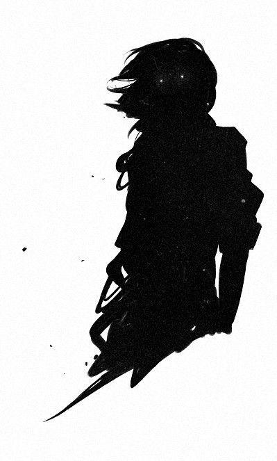 Lo miré, y me pregunté qué ocultaba toda aquella oscuridad que lo rodeaba.   ¿Que había en el otro lado de aquél agujero negro...?   La curiosidad mató al gato: No había nada.   Él era oscuridad.