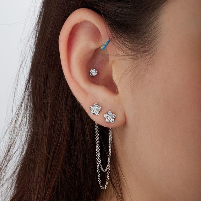 Turquoise Eternity Ring || Shop this Instagram from @maria_tash || http://www.venusbymariatash.com/516-turquoise-eternity-ring-earlobe.html?optionId=468