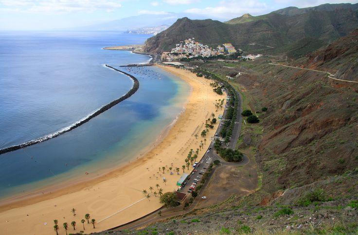Santa Cruz de Tenerife beach -Spain