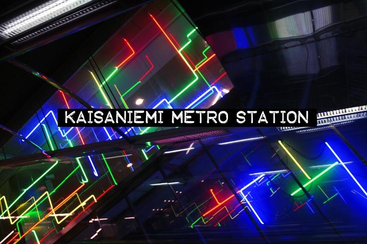 Kaisaniemi metro station / Helsinki