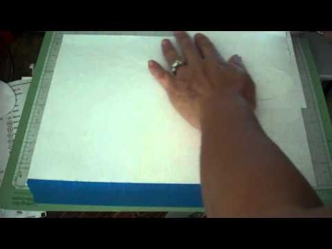 How To Cut Any Shape On The Front Of Your Card
