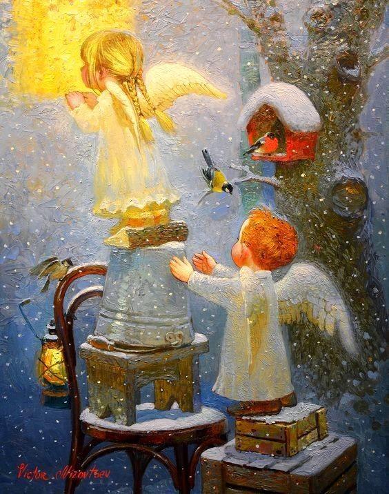 Спецназовцев аву, картинки рождественский ангел