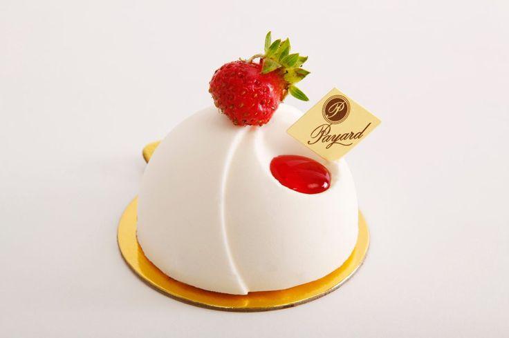 Dome Strawberry Cheesecake