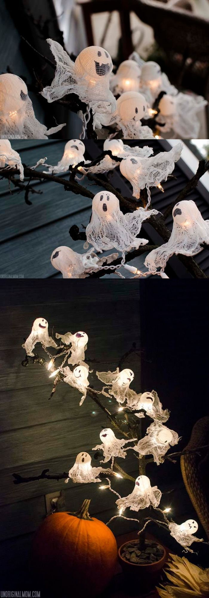 25+ scary lighting ideas for the Halloween night …