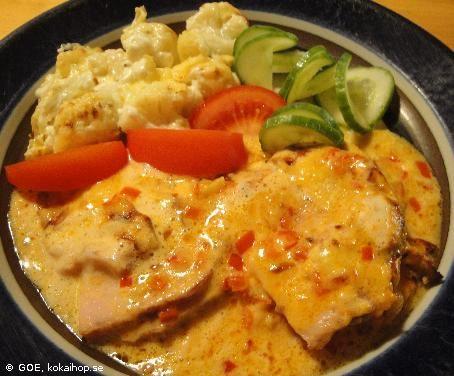 Recept - LCHF-Chilikasslergratäng