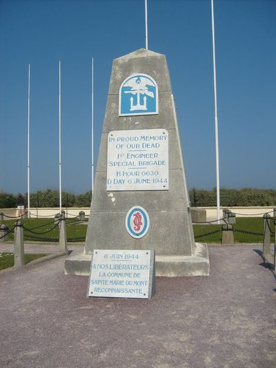 1000 images about d day p11 normandy area today on pinterest then and now - Monument la madeleine ...