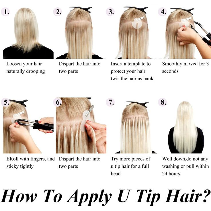 Best 25 bonded hair extensions ideas on pinterest keratin hair how to apply nailu tip hair extensions mrshair hot fusion pre bonded hair extension pmusecretfo Image collections