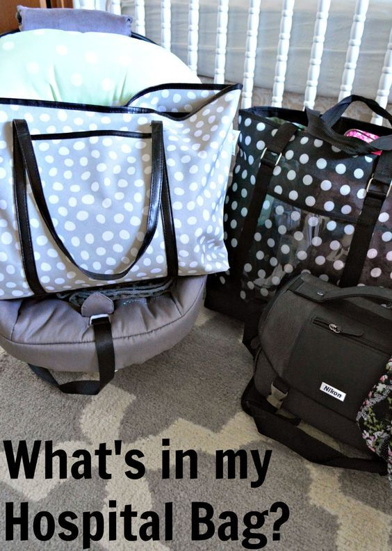 What's in my Hospital Bag, Baby's Bag, & Daddy's Bag?