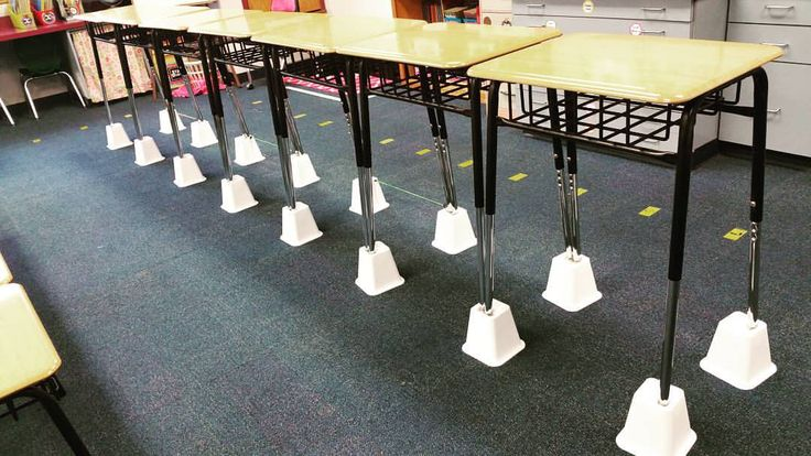 Teel's Treats : A Tiered Classroom  Alternative Classroom Seating. 6th grade standing desks using bed risers!
