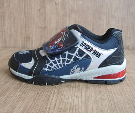 sepatu anak spiderman SF098N