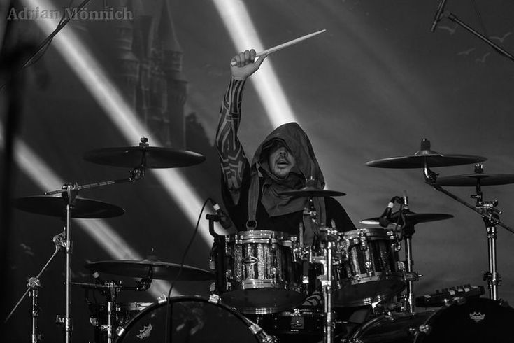 Twilight Force ⚫ Photo by Adrian Mönnich ⚫ W:O:A 2017 ⚫ #TwilightForce #De'Azsh #soulseeker #ancientbeing #drums #drummer #larp #music #metal #concert #gig #musician #band #artist #celebrity #Sweden #Swedish #Powermetal #dragon #live #concertphotography #Nuclearblast #トワイライトフォース