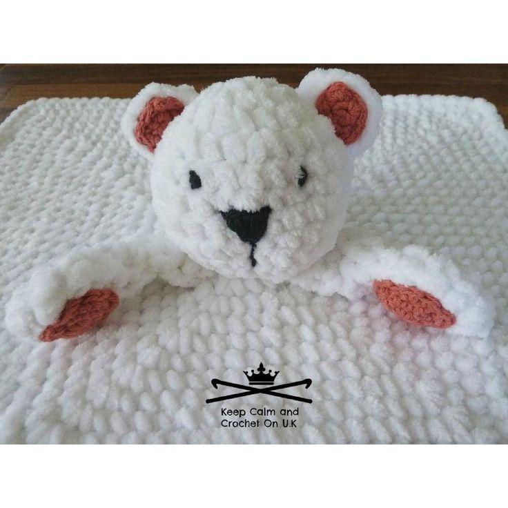 Knitting Stitches Codes : Nanuk the Polar Bear Lovey Crochet pattern by Keep Calm and Crochet On UK K...