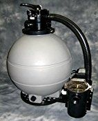 High Performance Sand Filter System, for Above Ground Pool, with 2 Speed, 2HP Pump with 22″ Tank