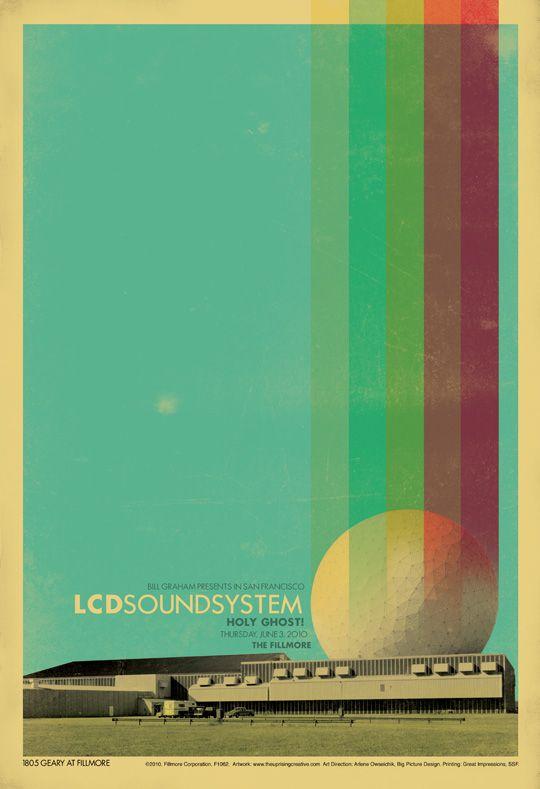 gig-poster-lcd-soundsystem: Lcdsoundsystem, Hatch Blog, Gig Posters Lcd Soundsystem, Posters Design, 25 Beautiful, Graphics Design, Beautiful Gig, Music Posters, Concerts Posters