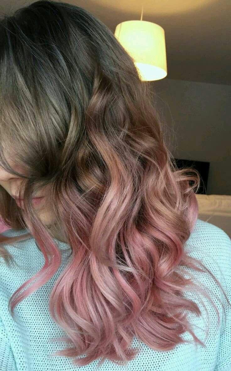 How To Dye Dark Brown Hair Light Pink Hairsstyles Co