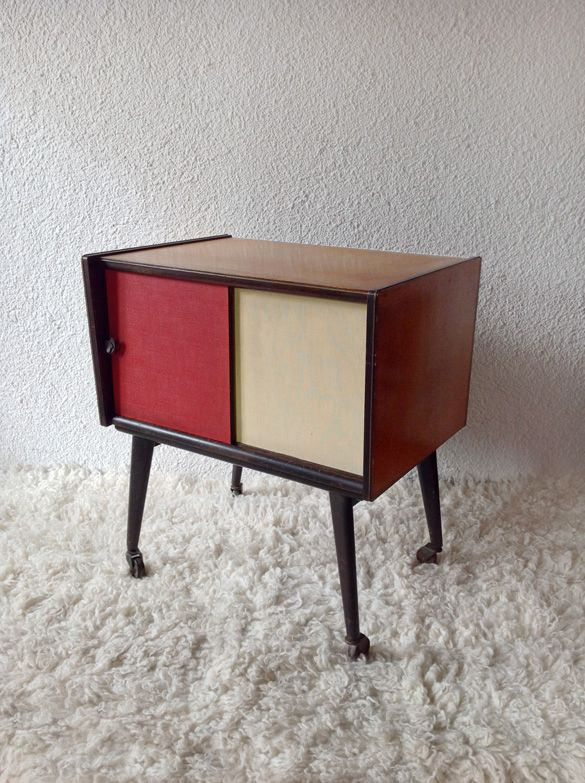 cabinet with sliding doors ('60-France) www.vadevintage.com